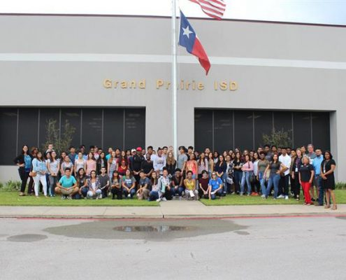 South Grand Prairie High School in Grand Prairie, Texas - Student Research Foundation Donated to their classroom project