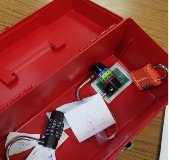 How This Teacher Unlocked His Students' Curiosity with locks a Student Research Foundation funded project