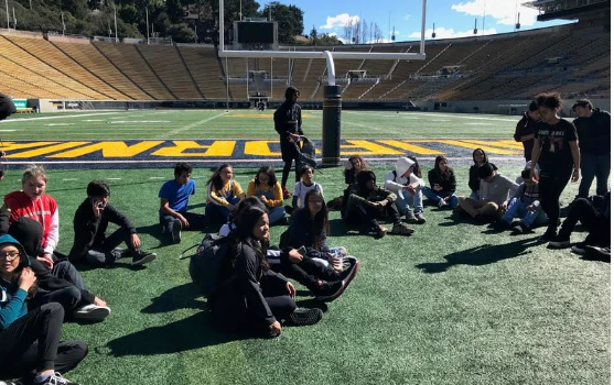Trip to UC Berkeley to help students picture their College Futures Partially Funded by the Student Research Foundation