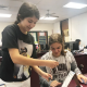 Mrs. Riley's Students Learn Computer Science thanks to funding from the Student Research Foundation