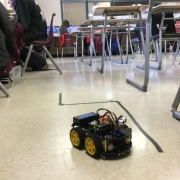 Robot Teaches Students Real-World Programming Skills a project funded by the Student Research Foundation