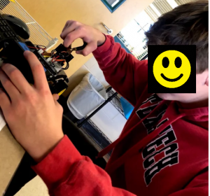 Robot Teaches Students Real-World Programming Skills a Student Research Foundation funded project