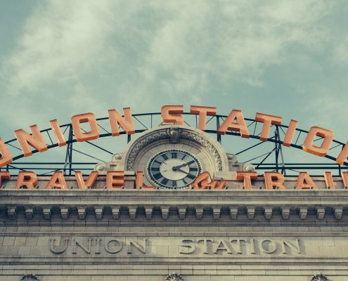 Union Station in Denver CO. The city is an Emerging Tech Center with Career Opportunities